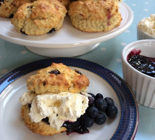 blueberry and buttermilk scones