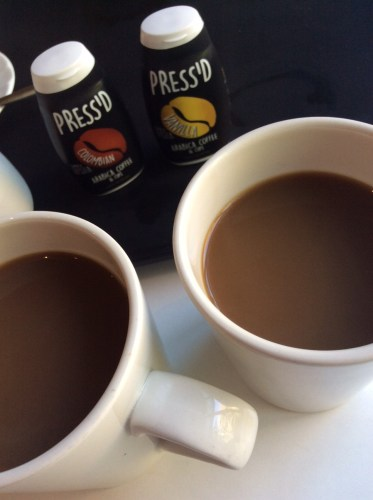 Coffee Review: Press'd Coffee - proper coffee in a squeeze!
