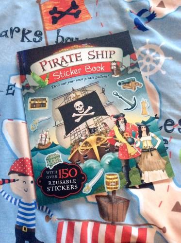 Pirate Ship Sticker Book