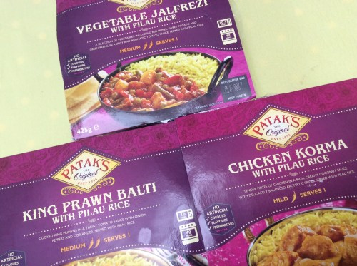 Patak's Frozen Curries