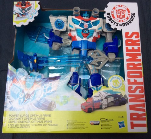 Transformers: Robots in Disguise Power Surge Optimus Prime