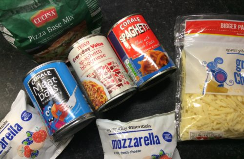 Recipes: Tinned Spaghetti Pizza & other weird ideas
