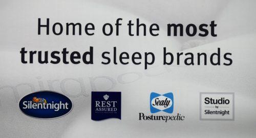 Sleep tips & Phil Spencer at the Silentnight flagship showroom