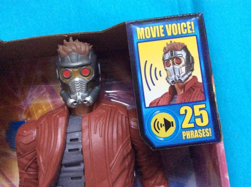 Review: Guardians of the Galaxy Electronic Music Mix Star-Lord figure