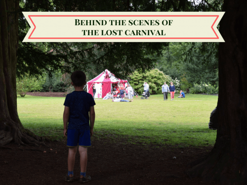 Behind the scenes at The Lost Carnival at Dunham Massey