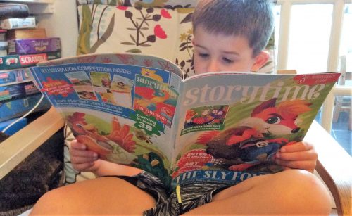 Giveaway & Review: Storytime Magazine for kids