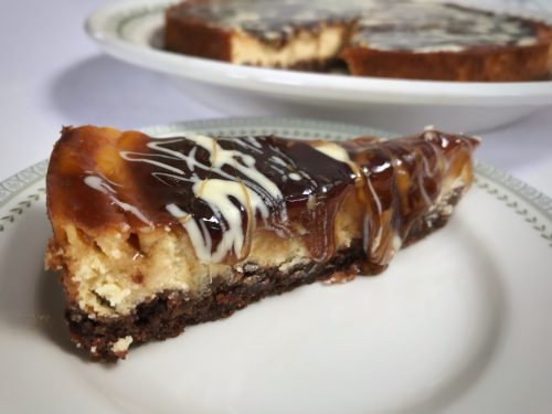 Recipe: Baked Guinness Cheesecake