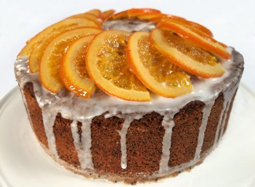 Recipe: Orange Poppy Seed Cake for Mother's Day