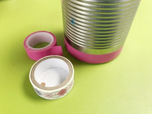 Kids Craft: How to make a Washi Tape Pen Pot