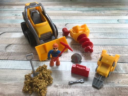 Toy Review: Kinetic Rock 3-in-1 Loader Set