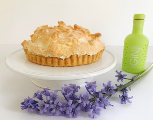 Lemon and Elderflower Gin Meringue Pie