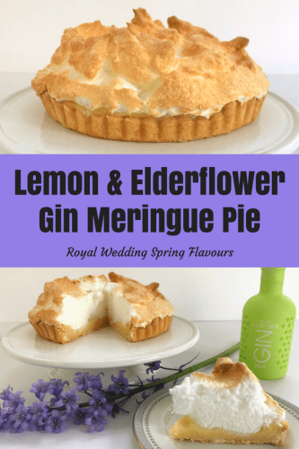 Recipe: Lemon and Elderflower Gin Meringue Pie