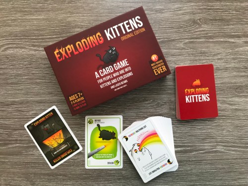 Board Game Review: Exploding Kittens