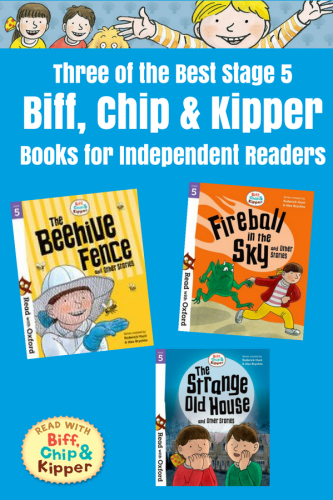 Three of the Best Stage 5 Biff, Chip and Kipper Books