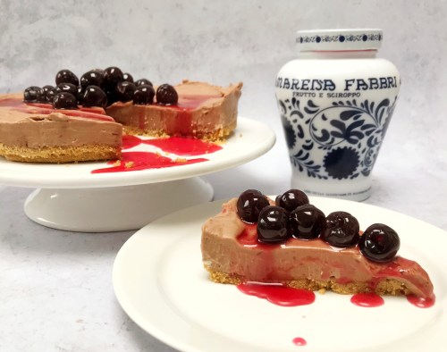 Recipe: Chocolate Cheesecake with Cherries in Syrup