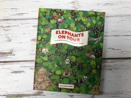 Elephants on Tour: A Search and Find Journey Around the World