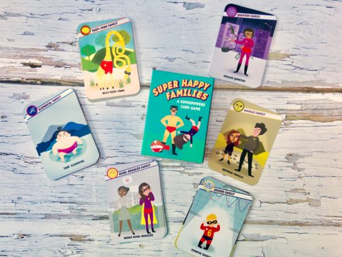 Card Game Review: Super Happy Families