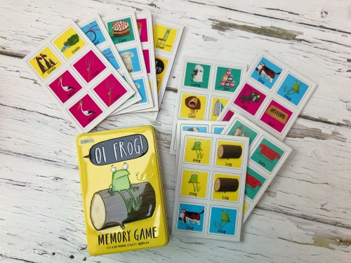 Oi Frog Memory Card Game