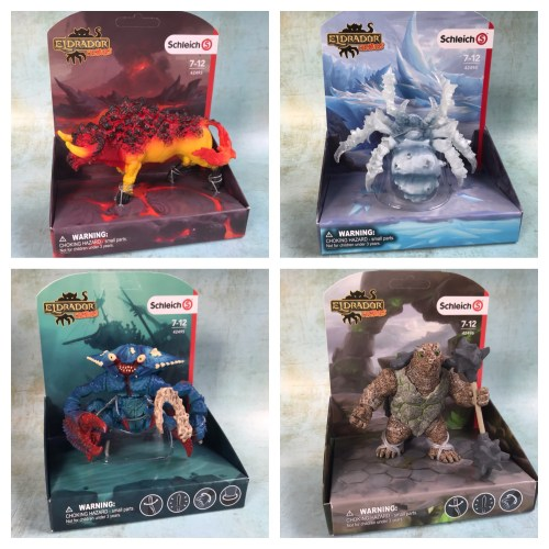 Toy Review: New Eldrador Creatures from Schleich