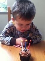 Birthday boy Benjamin