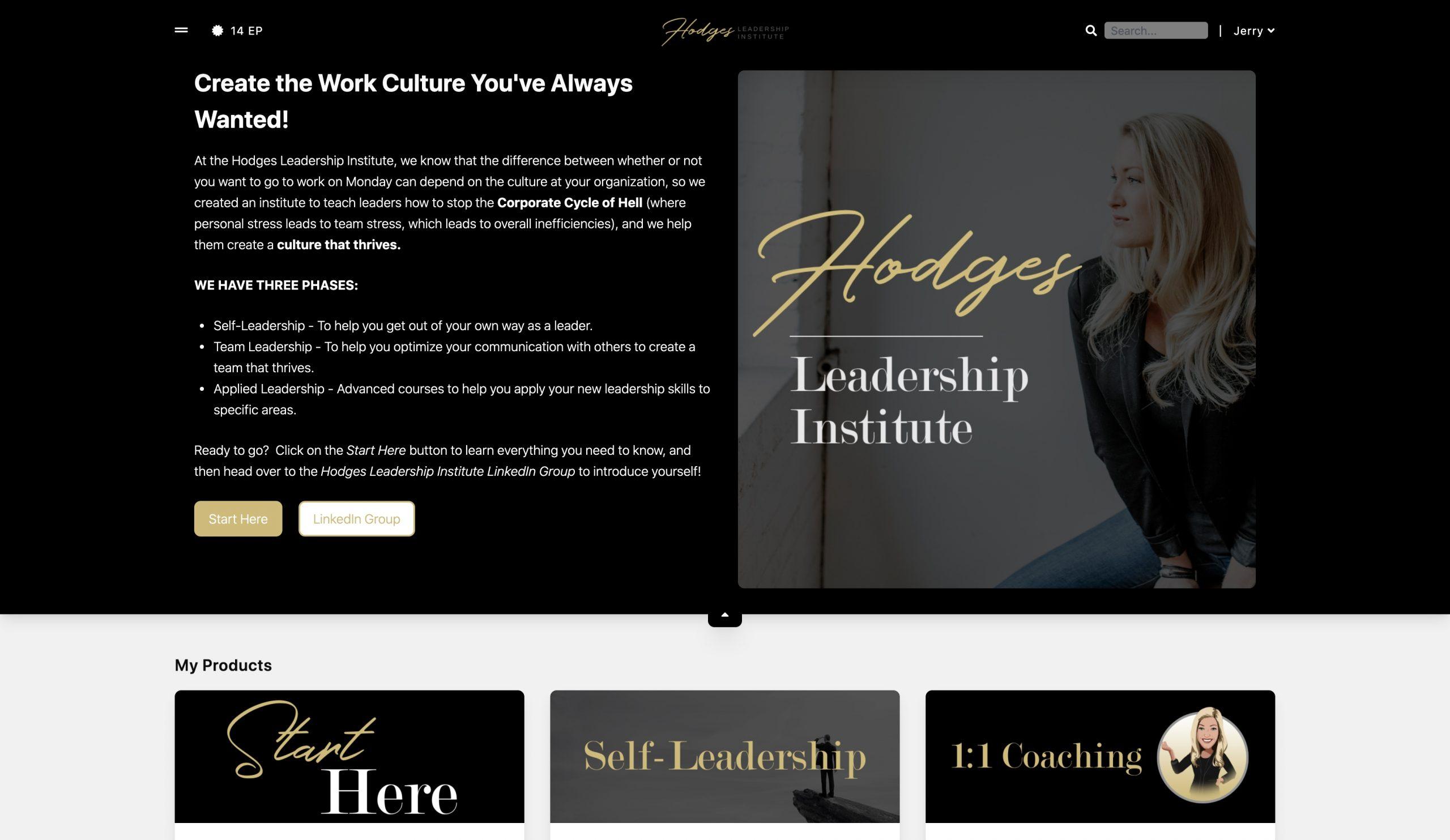 Hodges Leadership Institute Membership