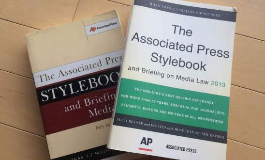 AP Stylebook updates