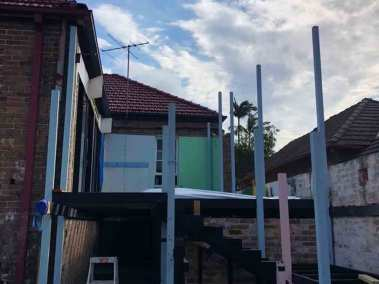 Home renovation and deck extention