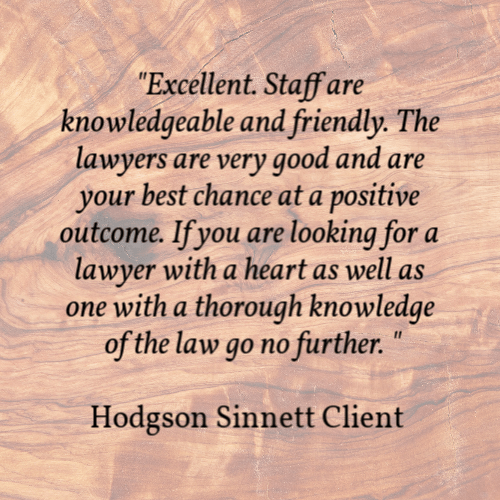Hodgson Sinnett Lawyer Kingston