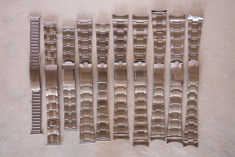 Rolex oyster bracelet history