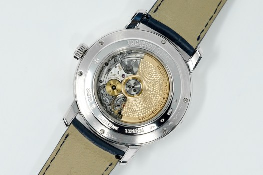 <p>The automatic caliber adds a dash of practicality to an otherwise fanciful watch.</p>