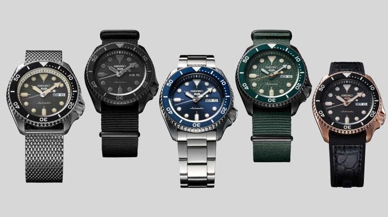 The New Seiko 5 Sports Watches Collection: Suits, Street, Sports, Sense and Specialist