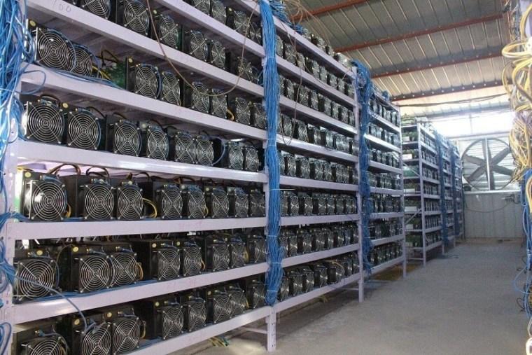 Asic mining farm