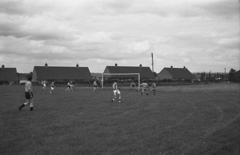 Football Hodnet (2) August 1962