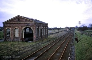 Hodnet Goods Yard March 1967