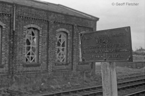 Hodnet Station Buildings Late Notice1967