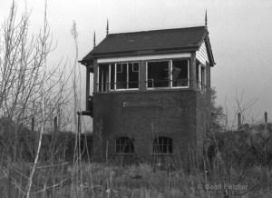 Hodnet Signal Box February 1975