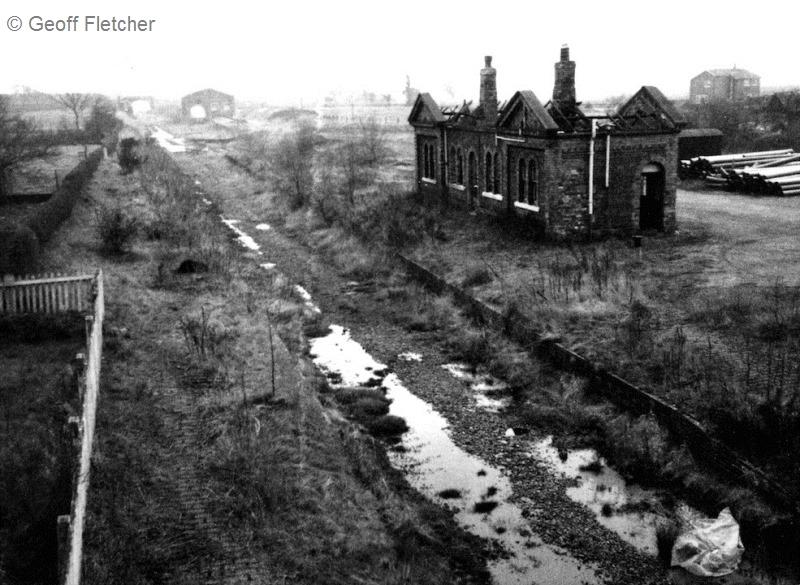 Hodnet Station & Track February 1975