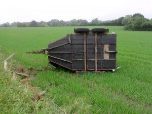 Horsebox in field 2