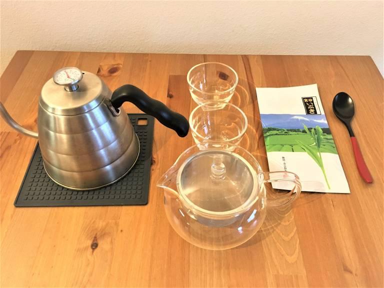 煎茶を入れる道具