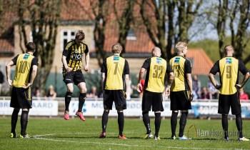 Aarhus Fremad spiller uafgjort 0-0 mod Brabrand i 2. division på Riisvangen Stadion, 2014