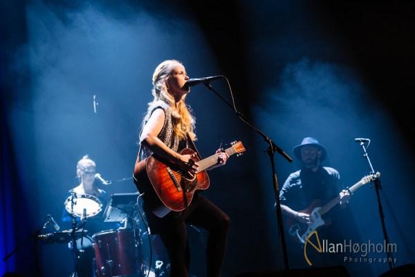 Tina Dickow på Hermans i Tivoli Friheden, Danmark, 2014