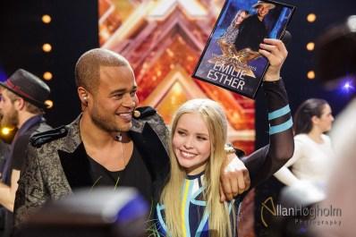 X-Factor finalen i Jyske Bank Boxen, Danmark, 2015