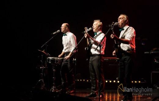 De Nattergale JULETUR 2015 spiller i Musikhuset Aarhus i Aarhus, d. 18 Dec 2015: (Photo by Allan Høgholm Photography, www.hoegholm.dk).