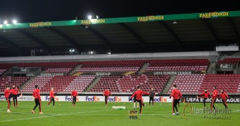 Manchester United Pressemøde og Åben traning ved Herning Arena i Herning, d. 17 Feb 2016 : (Photo by Allan Høgholm Photography www.hoegholm.dk)