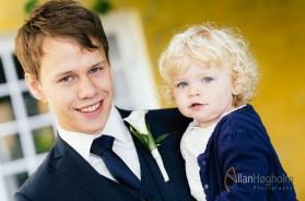 Tenna og Jens' bryllup i Saxild Gård, 2014