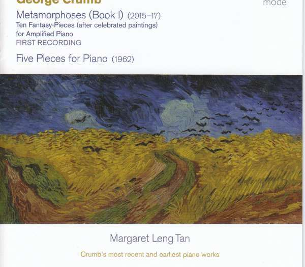 George Crumb:Metamorphoses (Book 1) - Ten Fantasy-Pieces (after celebrated paintings) for Amplified Piano