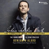 Johann Sebastian Bach: The Complete Works for Keyboard Vol. 1 – Benjamin Alard (Orgel & Cembalo)