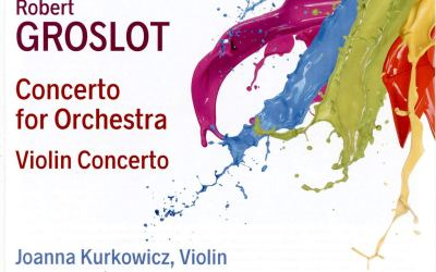 Robert Groslot: Concerto for Orchestra, Violin Concerto