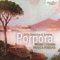 Nicola Porpora: Cello Concertos & Sonatas; Ensemble MVSICA PERDVTA (2017)