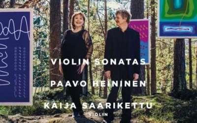 Paavo Heininen: Violin Sonatas
